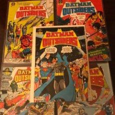 Cómics: LOTE BATMAN Y LOS OUTSIDERS 1-5 ZINCO DC COMICS. Lote 138982734