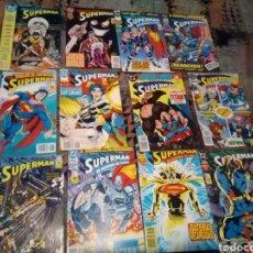 Cómics: LOTE 12 TEBEOS SUPERMAN EDICIONES ZINCO. Lote 139075154