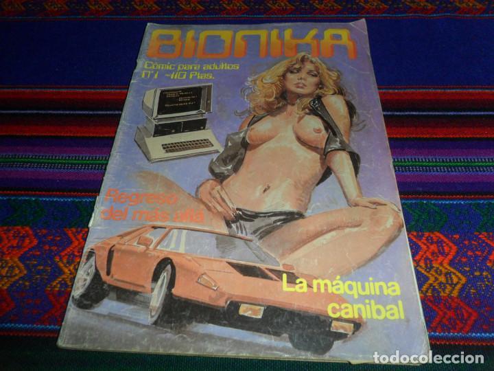 BIONIKA Nº 1. ZINCO 1985. 110 PTS. CÓMIC PARA ADULTOS. LA MÁQUINA CANÍBAL. (Tebeos y Comics - Zinco - Otros)