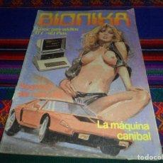 Cómics: BIONIKA Nº 1. ZINCO 1985. 110 PTS. CÓMIC PARA ADULTOS. LA MÁQUINA CANÍBAL.. Lote 139080802