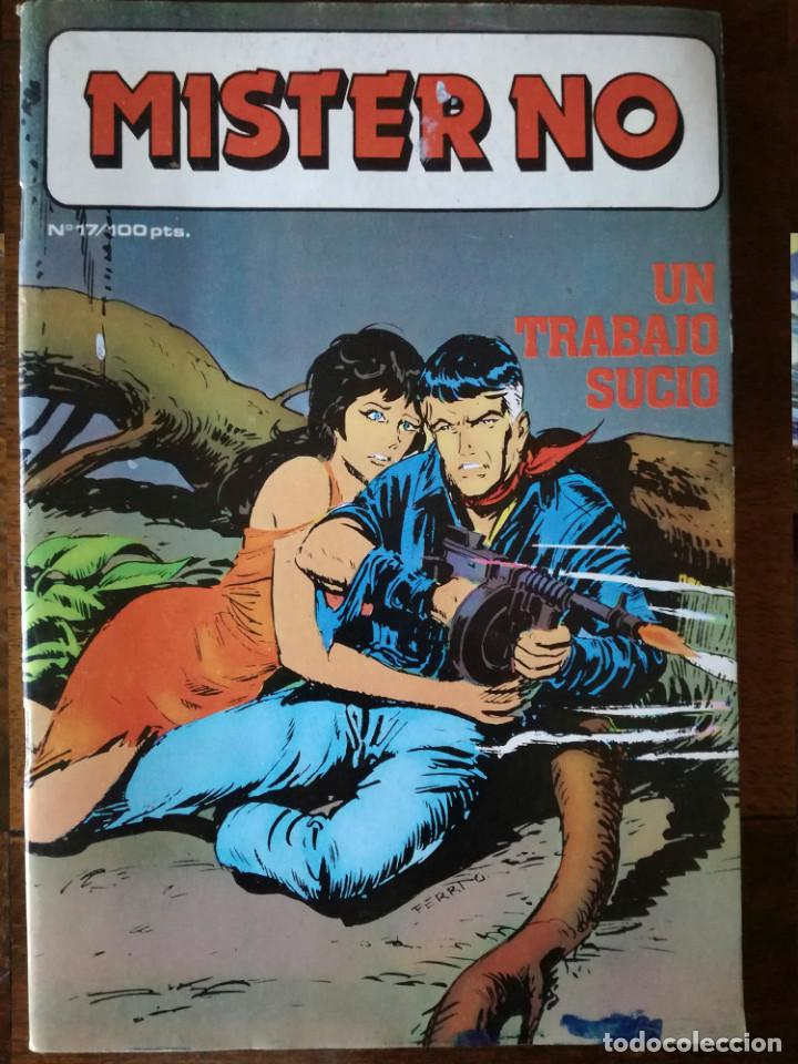 MISTER NO-Nº 17-EDICIONES ZINCO-UN TRABAJO SUCIO-1984 -NUEVO B/N (Tebeos y Comics - Zinco - Otros)