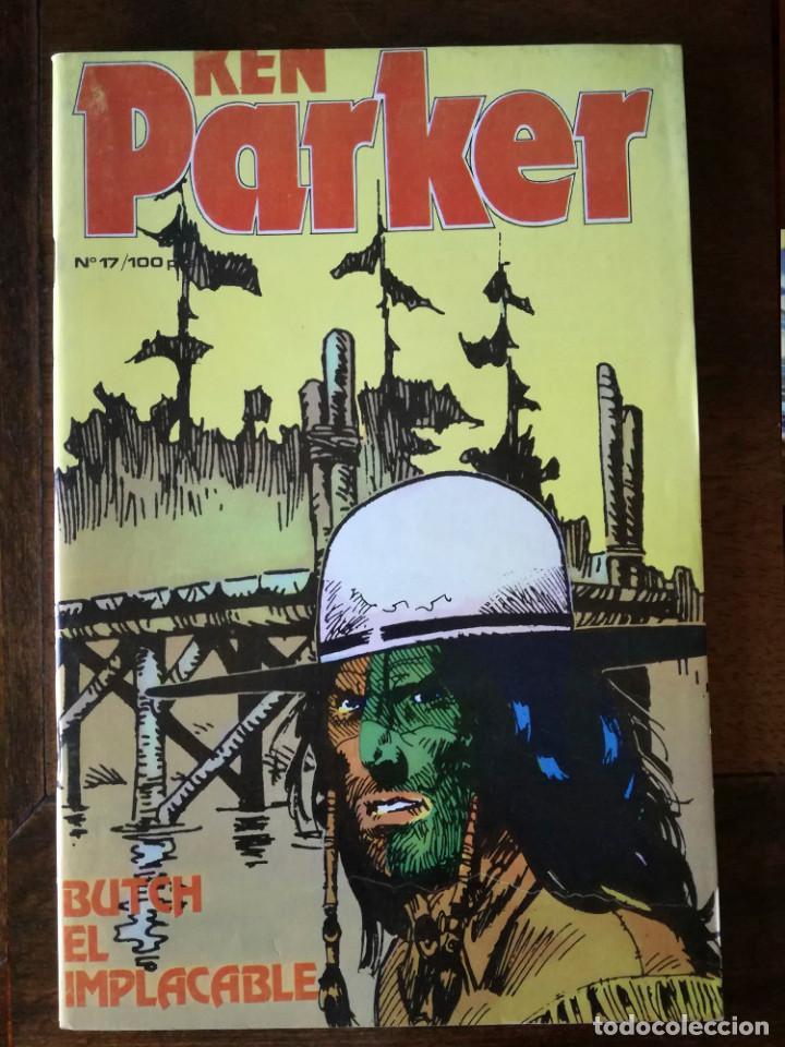 KEN PARKER- Nº 17-ZINCO-BUTCH EL IMPLACABLE-1984 NUEVO (Tebeos y Comics - Zinco - Otros)