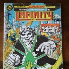 Cómics: 3 COMIC CRISIS INFINITY INC 19-20-21 GRUPO ZINCO DC 1986 NUEVO. Lote 42379328