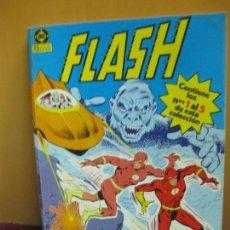 Cómics: FLASH, EL HOMBRE RAYO. RETAPADO CONTIENE LOS NUMEROS DEL 1 AL 5. EDICIONES ZINCO, 1987. Lote 139181822
