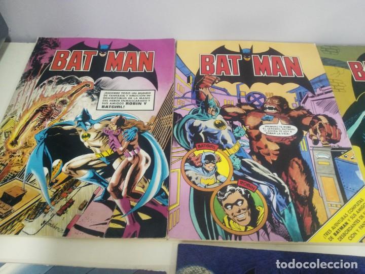 Cómics: LOTE DE COMICS BATMAN ANTIGUOS COLECCION COMPLETA - Foto 2 - 139211090
