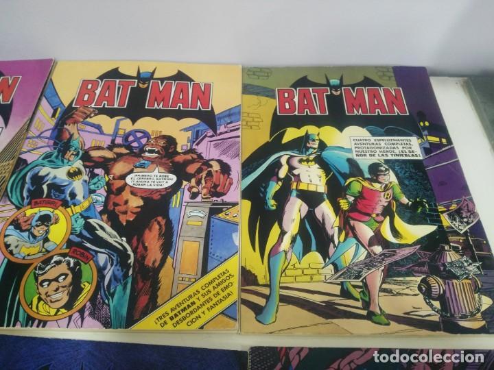 Cómics: LOTE DE COMICS BATMAN ANTIGUOS COLECCION COMPLETA - Foto 3 - 139211090