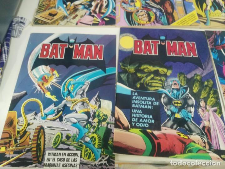 Cómics: LOTE DE COMICS BATMAN ANTIGUOS COLECCION COMPLETA - Foto 4 - 139211090