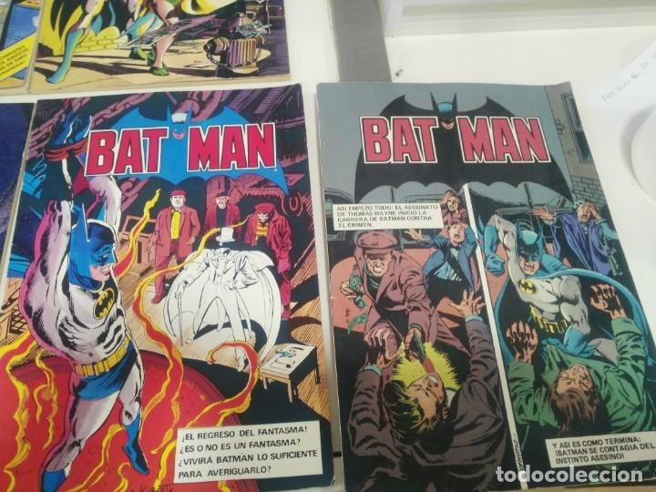 Cómics: LOTE DE COMICS BATMAN ANTIGUOS COLECCION COMPLETA - Foto 5 - 139211090