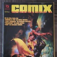 Cómics: COMIX INTERNACIONAL Nº 6. EDICIONES ZINCO 1993. Lote 139221354