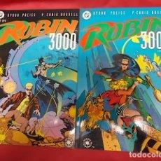 Cómics: ROBIN 3000. COLECCIÓN COMPLETA. TOMO 1 Y 2. EDICIONES ZINCO. Lote 139241130