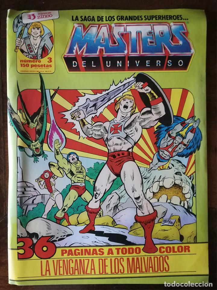 2 COMIC MASTERS DEL UNIVERSO Nº 3-20-ZINCO 1986 (Comics und Tebeos - Zinco - Andere Zinco)
