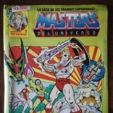 Cómics: 2 COMIC MASTERS DEL UNIVERSO Nº 3-20-ZINCO 1986. Lote 139255570
