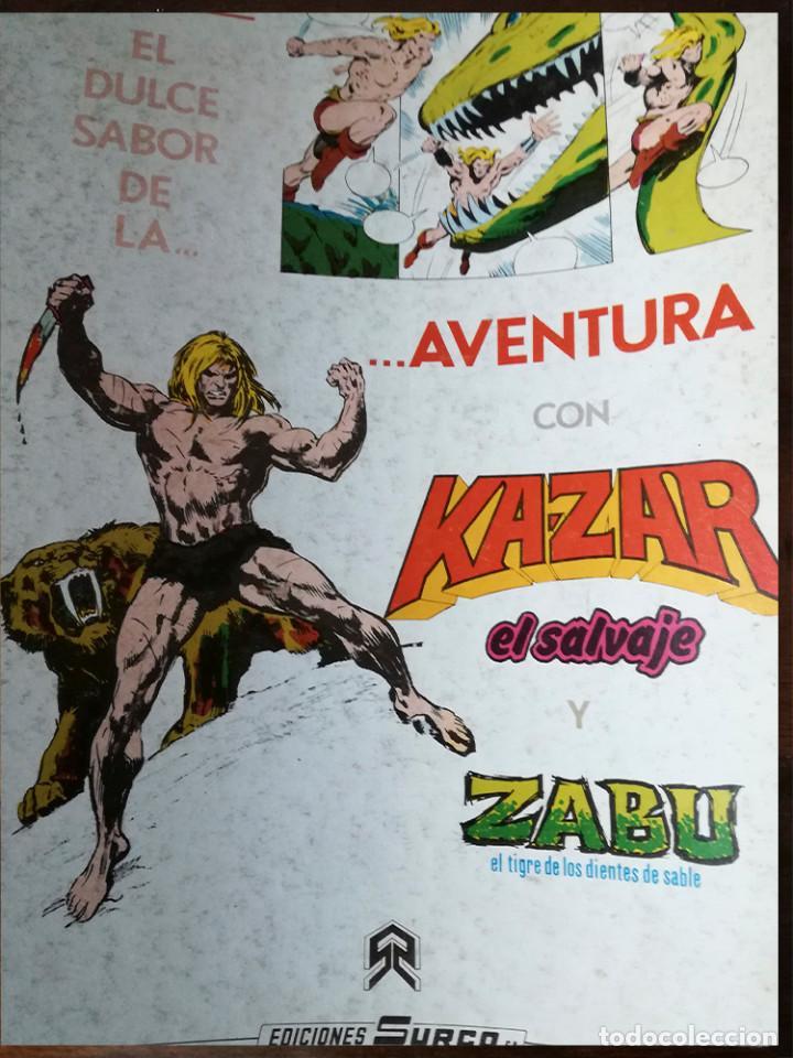 Cómics: STAR WARS Nº 1-2-3-4-5 Y QUE HA SIDO DE JABBA EL HUT? VÉRTICE RETAPADO SURCO COLOR-1983 - Foto 3 - 139256454
