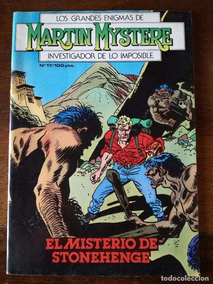 MARTIN MYSTERE Nº 17-EL MISTERIO DE STONEHNGE-1984 ZINCO NUEVO (Tebeos y Comics - Zinco - Otros)