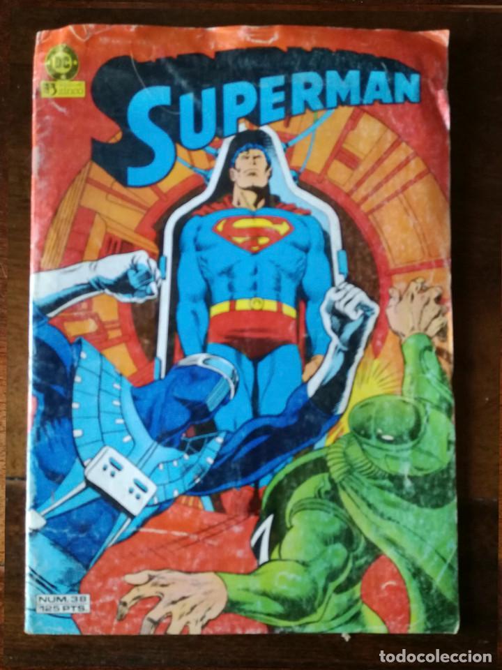 SUPERMAN Nº 38 ZINCO NUEVO (Tebeos y Comics - Zinco - Superman)