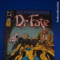 Cómics: CÓMIC DE DR FATE AÑO 1992 Nº 4 EDICIONES ZINCO LOTE 11 G. Lote 139388634