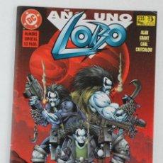 Cómics: COMIC LOBO AÑO UNO, Nº 9: NUMERO ESPECIAL 52 PAGINAS - COMICS ZINCO. Lote 139577810