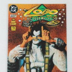 Cómics: LOBO VA A HOLLYWOOD. ALAN GRANT/CHRISTIAN ALAMY - EDICIONES ZINCO (1996). Lote 139578146