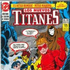Cómics: LOS NUEVOS TITANES NÚMERO 33 EDICIONES ZINCO DC. Lote 267733659