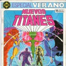 Comics : NUEVOS TITANES ESPECIAL VERANO EDICIONES ZINCO DC. Lote 207940000
