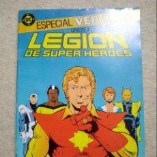 Cómics: LEGIÓN DE SUPER-HÉROES ESPECIAL VERANO - PAUL LEVITZ & STEVE LIGHTLE. Lote 139622790