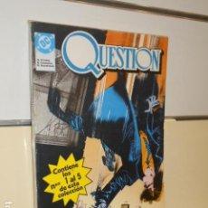 Cómics: RETAPADO QUESTION CONTIENE LOS Nº 1 AL 5 DE ESTA COLECCION - ZINCO -. Lote 139897886