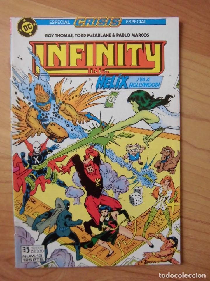 INFINITY Nº 13 DC EDICIONES ZINCO (Tebeos y Comics - Zinco - Nuevos Titanes)