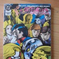 Comics: LEGION DE SUPER HEROES RETAPADO INCLUYE 9, 10, 11, 12 Y 13 EDICIONES ZINCO DC. Lote 140187846