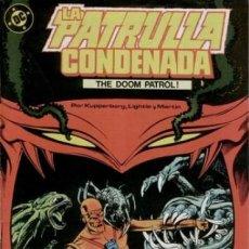 Cómics: LA PATRULLA CONDENADA #2, ZINCO, 1.988. Lote 140209574