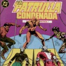 Cómics: LA PATRULLA CONDENADA #3, ZINCO, 1.988. Lote 140209826