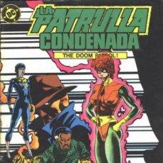 Cómics: LA PATRULLA CONDENADA #4, ZINCO, 1.988. Lote 140209958