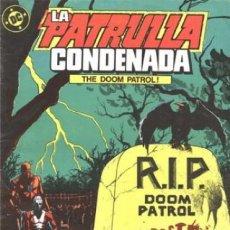 Cómics: LA PATRULLA CONDENADA #5, ZINCO, 1.988. Lote 140210034