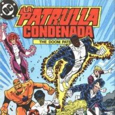 Cómics: LA PATRULLA CONDENADA #8, ZINCO, 1.988. Lote 140210278