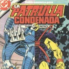 Cómics: LA PATRULLA CONDENADA #11, ZINCO, 1.988. Lote 140210498