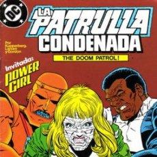 Cómics: LA PATRULLA CONDENADA #12, ZINCO, 1.988. Lote 140210626