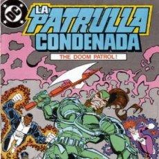 Cómics: LA PATRULLA CONDENADA #14, ZINCO, 1.988. Lote 140210818