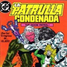 Cómics: LA PATRULLA CONDENADA #15, ZINCO, 1.988. Lote 140210950
