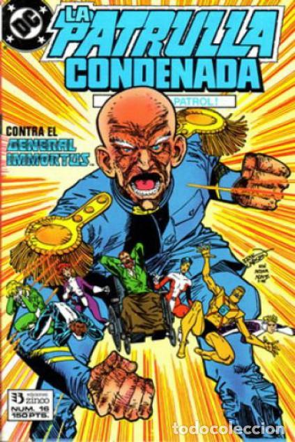 LA PATRULLA CONDENADA #16, ZINCO, 1.988 (Tebeos y Comics - Zinco - Patrulla Condenada)
