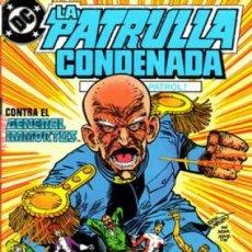 Cómics: LA PATRULLA CONDENADA #16, ZINCO, 1.988. Lote 140211178