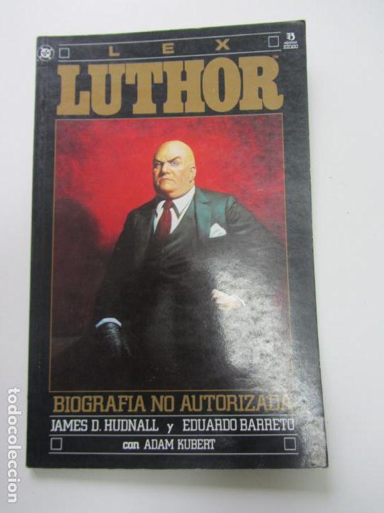 LEX LUTHOR,BIOGRAFIA NO AUTORIZADA - ZINCO 1990 (Tebeos y Comics - Zinco - Prestiges y Tomos)
