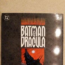 Cómics: BATMAN - DRÁCULA: LLUVIA ROJA, DOUG MOENCH / KELLEY JONES. Lote 140591686
