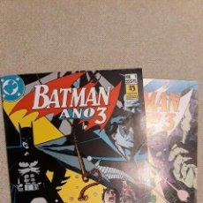 Cómics: BATMAN AÑO, 2 NÚMEROS (COMPLETA). Lote 140594826