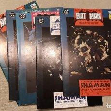 Cómics: LEYENDAS DE BATMAN 1-5: SHAMAN, O'NEIL / HANNIGAN. Lote 140594986