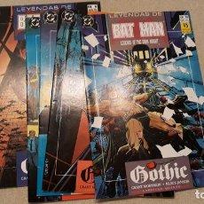 Cómics: LEYENDAS DE BATMAN 6-10: GOTHIC, GRANT MORRISON / KLAUS JANSON. Lote 140595074