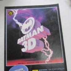 Cómics: BATMAN 3D DC COMICS 1990. NUEVO CON SUS GAFAS ZINCO JOHN BYRNE. Lote 140625198