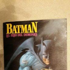 Cómics: BATMAN: EL HIJO DEL DEMONIO. Lote 140648778