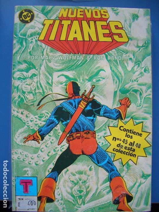 NUEVOS TITANES: TOMO #10 (ZINCO, 45-48) (Tebeos y Comics - Zinco - Retapados)
