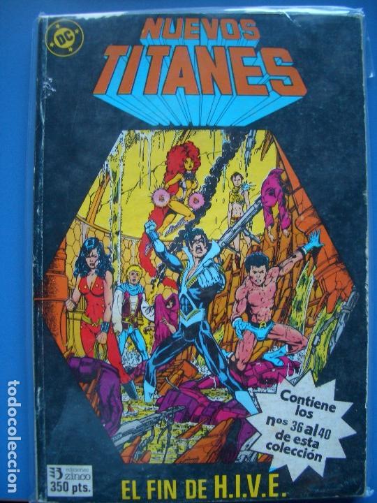 NUEVOS TITANES: TOMO #8 (ZINCO, 36-40) (Tebeos y Comics - Zinco - Retapados)