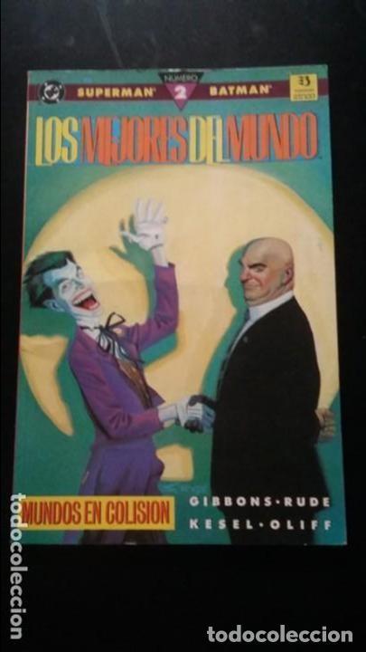 SUPERMAN/BATMAN LOS MEJORES DEL MUNDO 2 PRESTIGIO ZINCO (Tebeos y Comics - Zinco - Prestiges y Tomos)