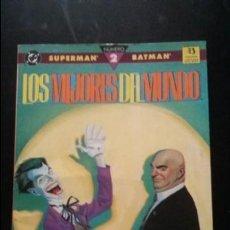 Cómics: SUPERMAN/BATMAN LOS MEJORES DEL MUNDO 2 PRESTIGIO ZINCO. Lote 140820978